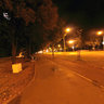 Bulevar Mihajla Pupina Street at night