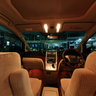 Interior of Toyota Alphard 
