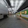 Warsaw Srodmiescie railway station - platform 3