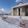 National Temple of Divine Providence in Warsaw - building - winter