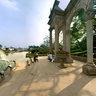 Roman colonnades in Yuntai Garden Guangzhou