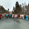Participants of Folk Festival Dmitriev Day in the Urals 2010