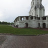 Ascension Church in Kolomenskoye. After rain. Mocsow.