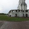Ascension Church in Kolomenskoye. After rain. Mocsow.