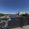 Patriarchal Bridge. Moscow.