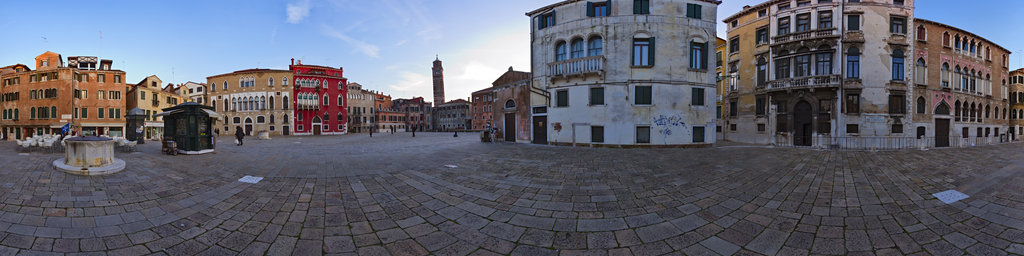 Campo San Anzolo, Venice, Italy